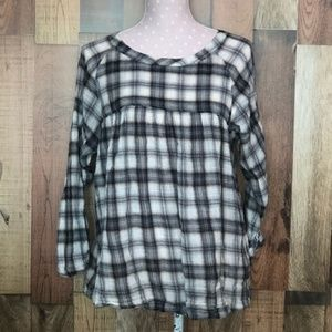 Current Elliot Raglan blouse size 2